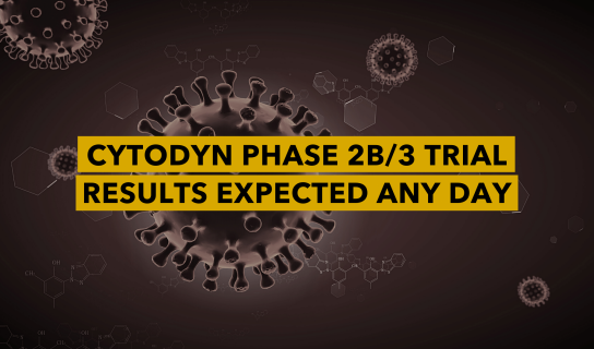 Cytodyn Inc's Phase 2b/3 Trial Results Expected Any Day