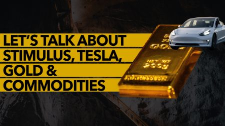 Let's Talk About Stimulus, Tesla, Gold & Commodities