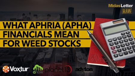 What Aphria (APHA) Financials Mean For Weed Stocks   Midas Letter RAW