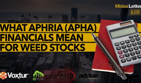What Aphria (APHA) Financials Mean For Weed Stocks | Midas Letter RAW