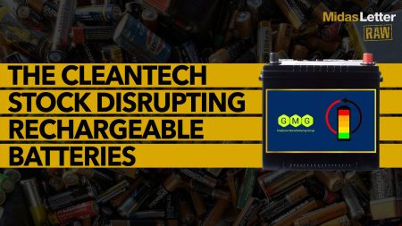 The Clean-Tech Stock Disrupting Rechargeable Batteries