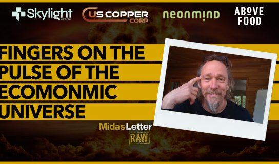 Fingers on the Pulse of the Economic Universe | Midas Letter RAW