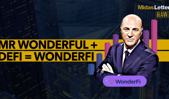 Kevin O'Leary Moves into Decentralized Finance with WonderFi