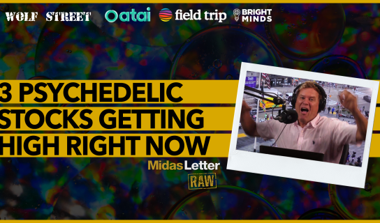 3 Psychedelic Stocks Getting High Right Now | Midas Letter RAW ft ATAI, FTRP, DRUG, Wolf Street