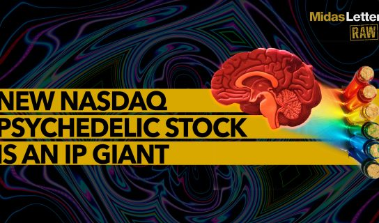New NASDAQ Psychedelic Stock is an IP Giant