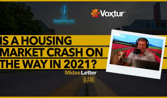 Is a Housing Market Crash on the Way in 2021? | Midas Letter RAW ft GTBP & VXTR