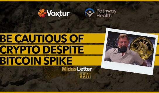 Be Cautious of Crypto Despite Bitcoin Spike | Midas Letter RAW ft VXTR, PHC