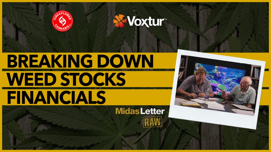 Breaking Down Weed Stocks Financials | Midas Letter RAW ft FAF