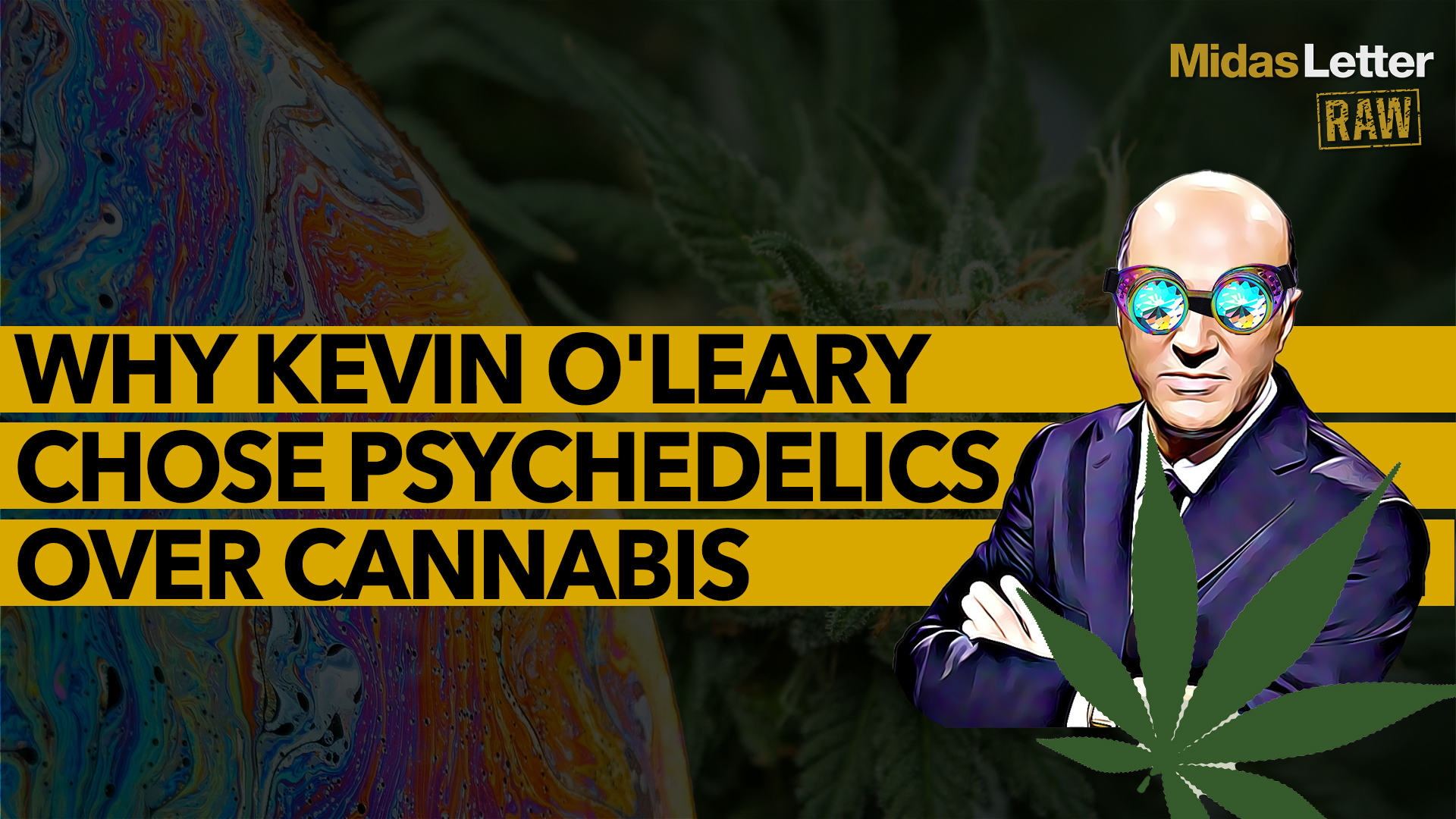 Why Kevin O'Leary Chose Psychedelics Over Cannabis   MindMed (MNMD)