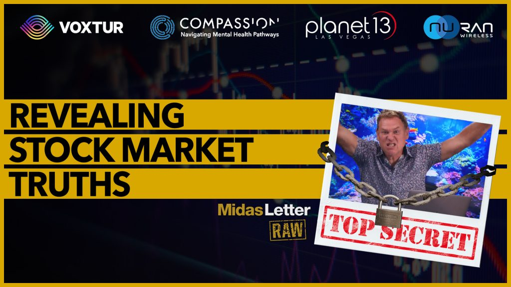 Stock Market Truths They Don't Want You to Know   Midas Letter RAW ft CMPS, PLTH, NUR