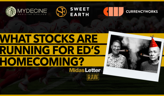 What Stocks are Running for Ed's Homecoming? | Midas Letter RAW ft MYCO, SE, CWRK